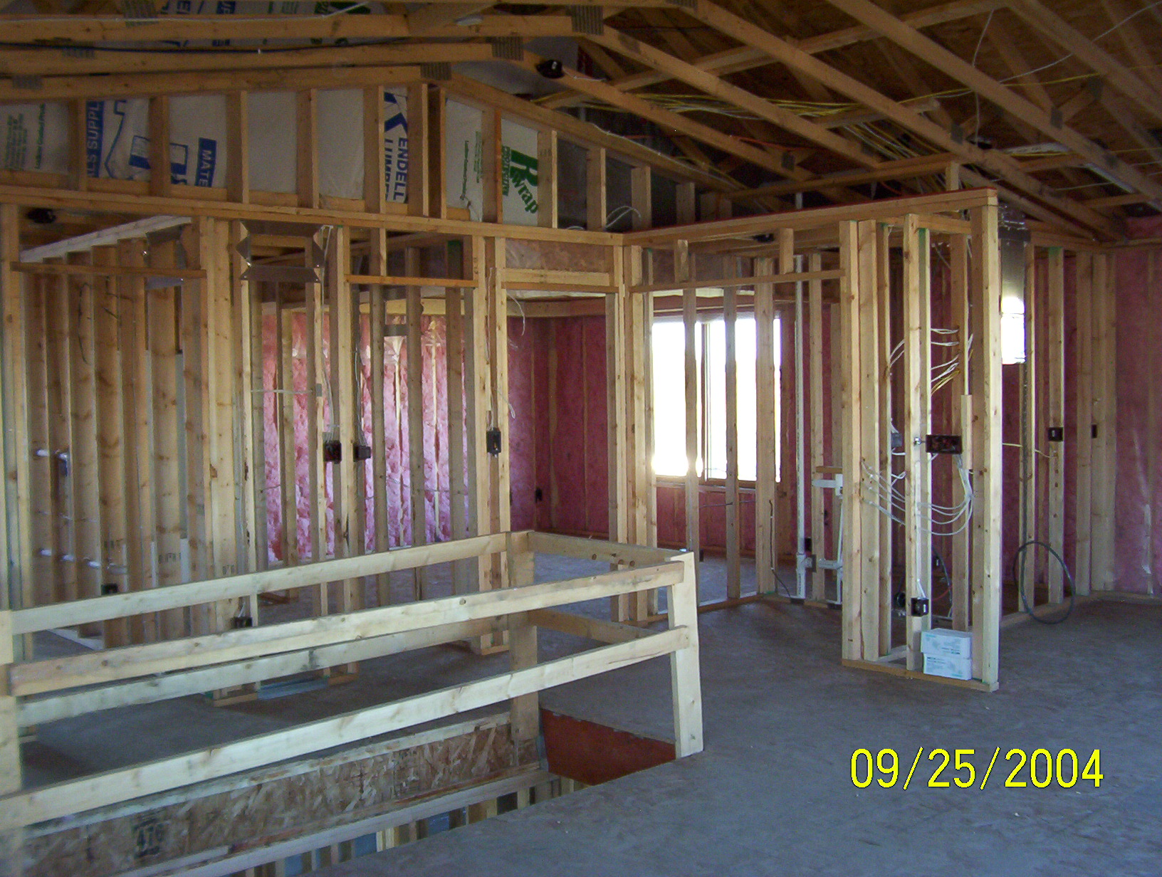 Framing Brent Mcnallan Construction Llc