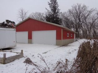 New agricultural building project for MN client.