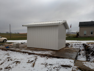 New shed construction
