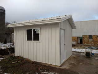 New shed for agricultural customer in Minnesota